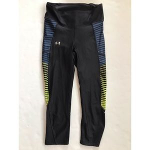Under Armour Girls Leggings   Youth Small